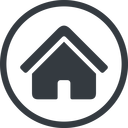 home-small-solid line, normal, solid, circle, small, home, house, home-small, home-small-solid free icon 128x128 128x128px