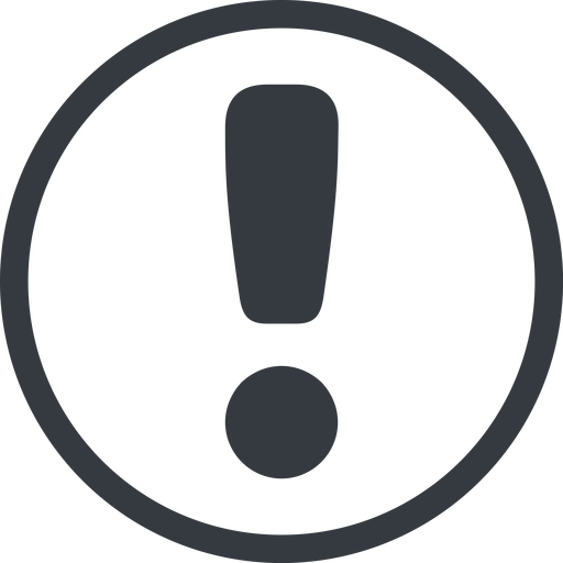 exclamation-mark-rounded line, normal, circle, mark, warning, exclamation, rounded, info, exclamation-mark-rounded, alert free icon 512x512 512x512px