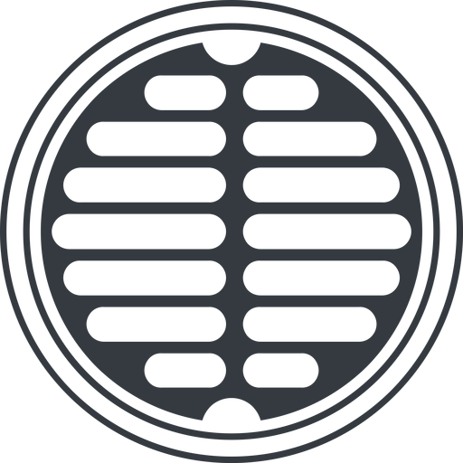 manhole-alt-solid line, up, normal, circle, manhole, sewer, sewer-manhole, metal, cover, manhole-alt-solid free icon 512x512 512x512px