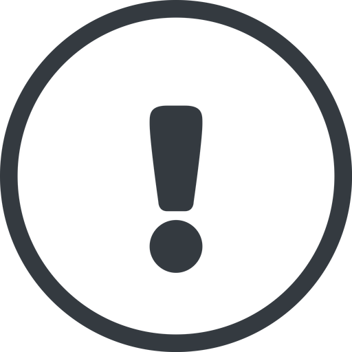 warning-solid line, normal, circle, mark, warning, exclamation, warning-solid, alert free icon 512x512 512x512px