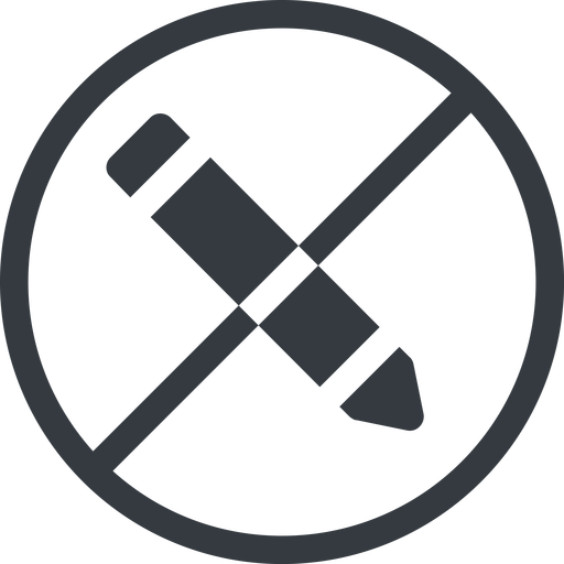 edit line, left, normal, wide, circle, prohibited, edit, pen, pencil, draw free icon 512x512 512x512px