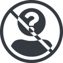 anonymous-user-circle-solid line, normal, circle, user, man, woman, person, prohibited, user-circle, anonymous, anonymous-user, anonymous-user-circle, incognito, unidentified, anonym, anonymous-user-circle-solid free icon 128x128 128x128px