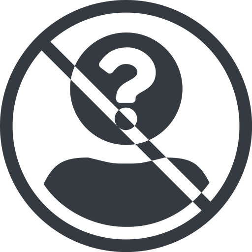 anonymous-user-circle-solid line, normal, circle, user, man, woman, person, prohibited, user-circle, anonymous, anonymous-user, anonymous-user-circle, incognito, unidentified, anonym, anonymous-user-circle-solid free icon 512x512 512x512px