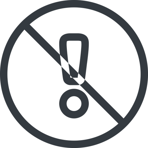 warning line, normal, circle, mark, warning, exclamation, prohibited, alert free icon 512x512 512x512px