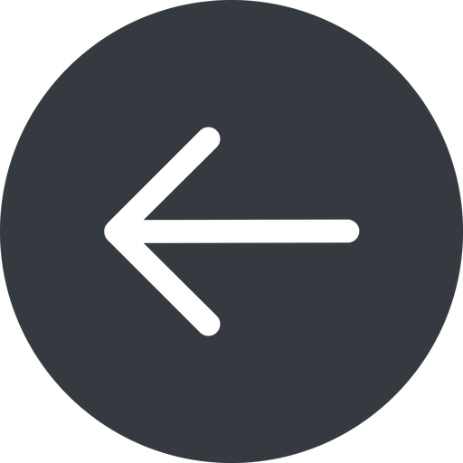 arrow-simple left, solid, circle, arrow, direction, arrow-simple free icon 512x512 512x512px