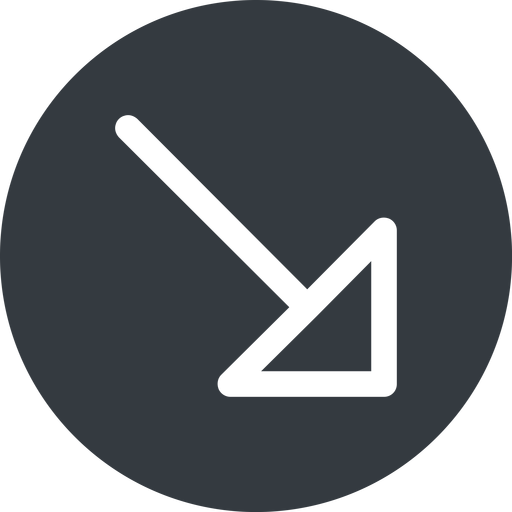 arrow-corner right, solid, circle, arrow, link, url, href, corner, arrow-corner free icon 512x512 512x512px