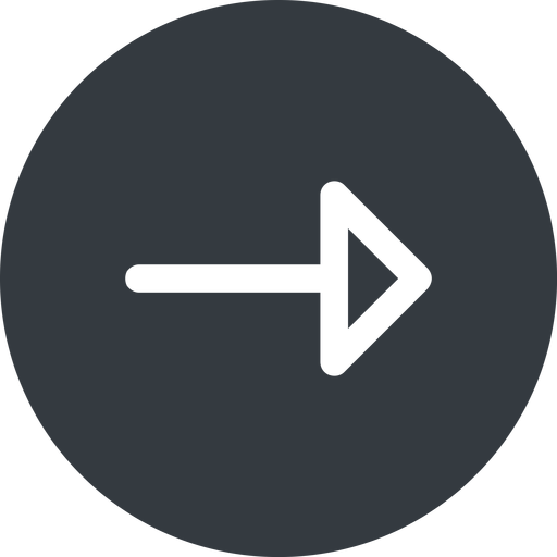 arrow right, normal, solid, circle, arrow free icon 512x512 512x512px