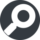 magnifying-glass-solid normal, solid, circle, search, magnifying, glass, research, magnifying-glass-solid free icon 128x128 128x128px