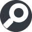 magnifying-glass-solid normal, solid, circle, search, magnifying, glass, research, magnifying-glass-solid free icon 64x64 64x64px