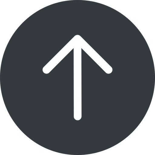 arrow-simple up, solid, circle, arrow, direction, arrow-simple free icon 512x512 512x512px