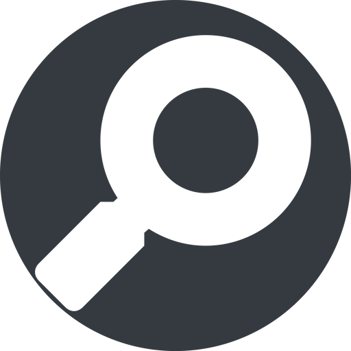magnifying-glass-solid normal, solid, circle, search, magnifying, glass, research, magnifying-glass-solid free icon 512x512 512x512px