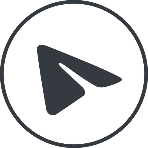 telegram thin, line, circle, logo, brand, horizontal, mirror, message, social, network, messenger, phone, brands, paper, messaging, app, plane, airplane, aeroplane, telegram, submit, send free icon 512x512 512x512px
