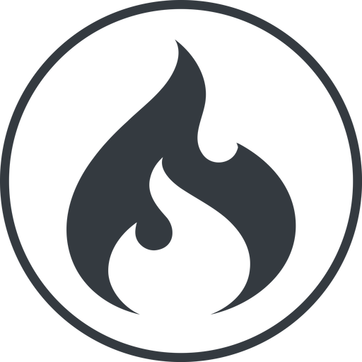 codeigniter thin, line, circle, logo, brand, icon, codeigniter, igniter, code, php, framework, flame, fire free icon 512x512 512x512px
