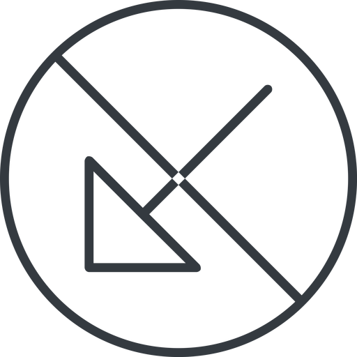 arrow-corner-thin thin, line, down, circle, arrow, prohibited, corner, arrow-corner-thin free icon 512x512 512x512px