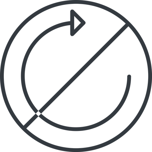 undo-thin thin, line, up, circle, horizontal, mirror, arrow, prohibited, reload, refresh, undo, redo, undo-thin, restore free icon 512x512 512x512px