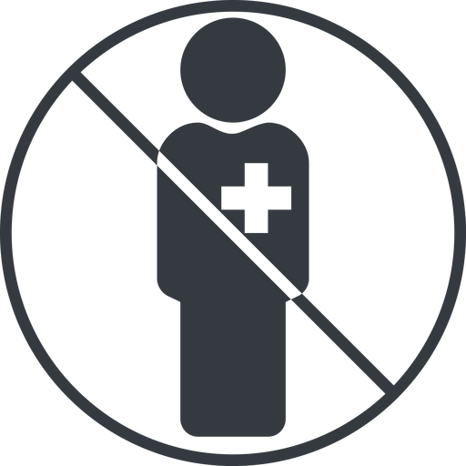 male-nurse-solid thin, line, circle, prohibited, nurse, medical, healthcare, health, male, medic, doctor, hospital, male-nurse, male-nurse-solid free icon 512x512 512x512px