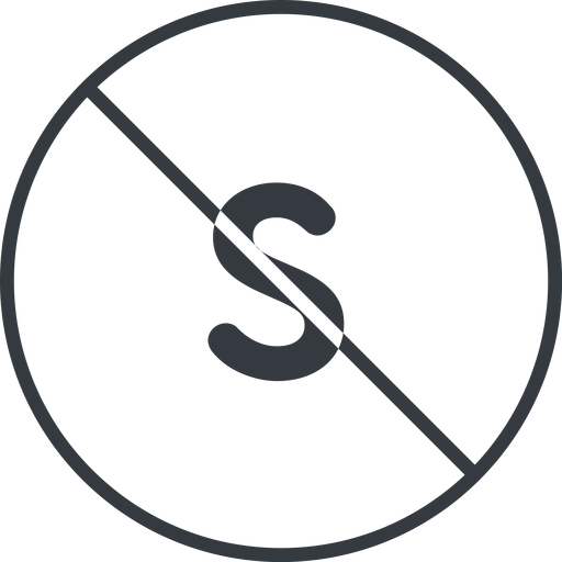 small thin, line, circle, small, size, s, prohibited free icon 512x512 512x512px