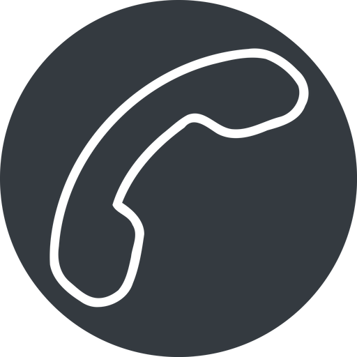 phone-thin thin, down, solid, circle, phone, call, dial, number, phone-thin, telephone free icon 512x512 512x512px