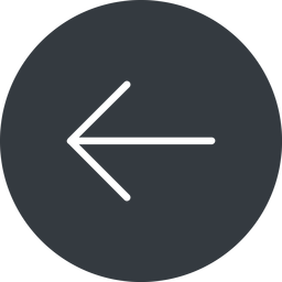 arrow-simple-thin thin, left, solid, circle, arrow, direction, arrow-simple-thin free icon 256x256 256x256px