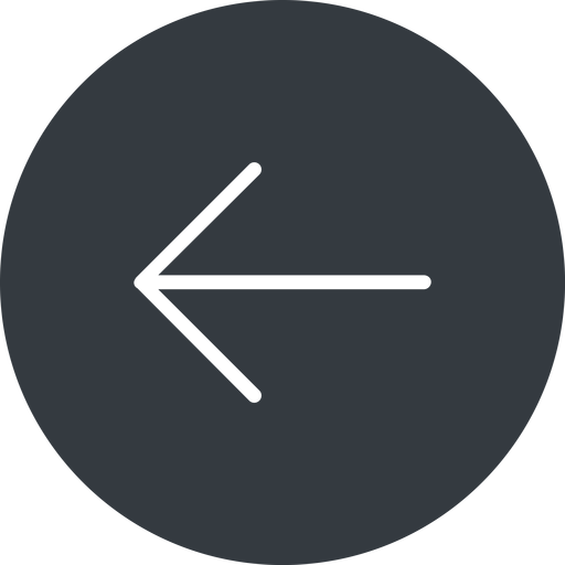 arrow-simple-thin thin, left, solid, circle, arrow, direction, arrow-simple-thin free icon 512x512 512x512px
