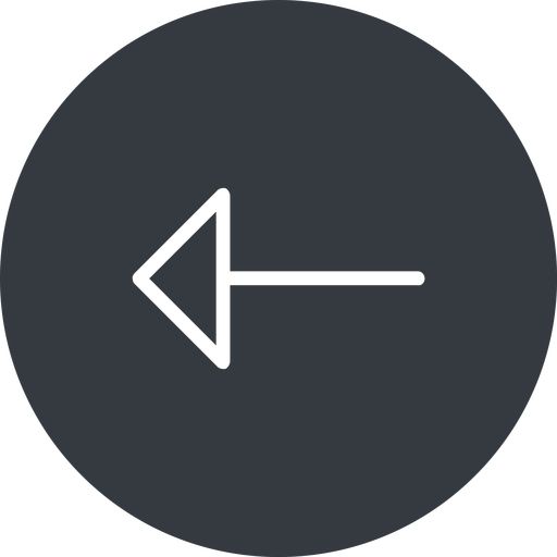 arrow-thin thin, left, solid, circle, arrow, arrow-thin free icon 512x512 512x512px