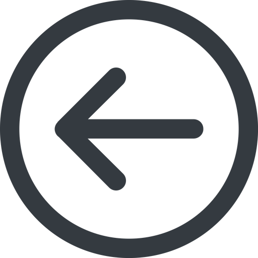 arrow-simple-wide line, left, circle, arrow, direction, arrow-simple-wide free icon 512x512 512x512px