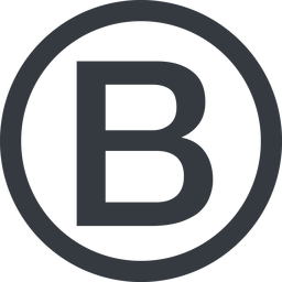 bootstrap-b line, circle, logo, brand, bootstrap, b, letter, bootstrap-b free icon 256x256 256x256px