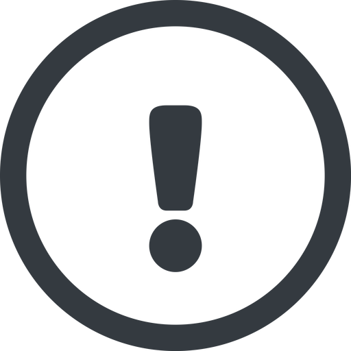 warning-solid line, wide, circle, mark, warning, exclamation, warning-solid, alert free icon 512x512 512x512px