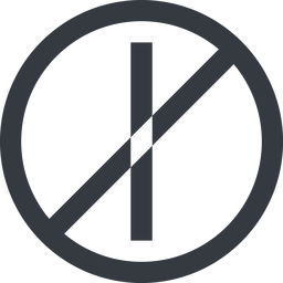 minus-wide line, right, wide, circle, minus, remove, sub, substract, prohibited, collapse, minus-wide, -, less free icon 256x256 256x256px