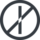 minus-wide line, right, wide, circle, minus, remove, sub, substract, prohibited, collapse, minus-wide, -, less free icon 128x128 128x128px