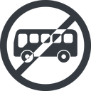 bus-side line, wide, circle, horizontal, mirror, car, vehicle, transport, prohibited, bus, side, bus-side free icon 128x128 128x128px