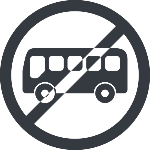 bus-side line, wide, circle, horizontal, mirror, car, vehicle, transport, prohibited, bus, side, bus-side free icon 512x512 512x512px