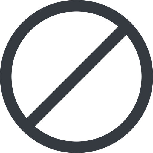 circle line, wide, circle, horizontal, mirror, prohibited free icon 512x512 512x512px