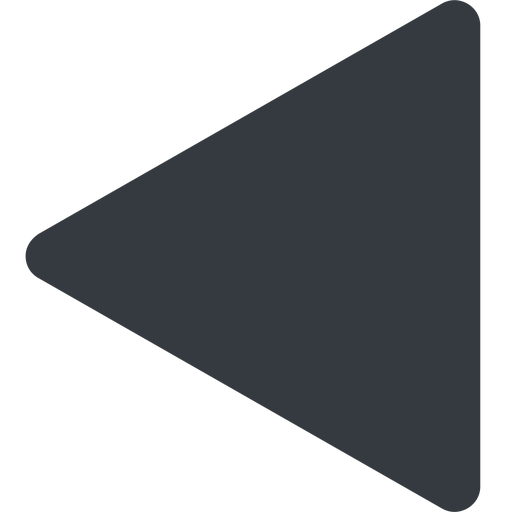 equilateral-triangle triangle, thin, left, solid, equilateral, equilateral-triangle free icon 512x512 512x512px