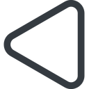 equilateral-triangle triangle, line, left, wide, equilateral, equilateral-triangle free icon 128x128 128x128px