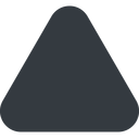 equilateral-triangle triangle, up, wide, solid, equilateral, equilateral-triangle free icon 128x128 128x128px