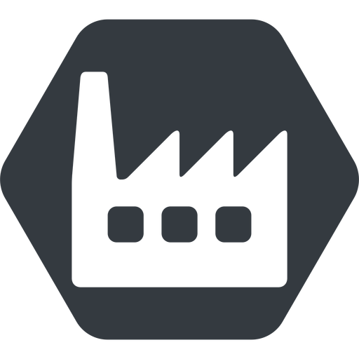 factory-window normal, solid, hexagon, horizontal, mirror, factory, industry, window, factory-window free icon 512x512 512x512px