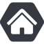 home-small-solid normal, solid, hexagon, small, home, house, home-small, home-small-solid free icon 64x64 64x64px