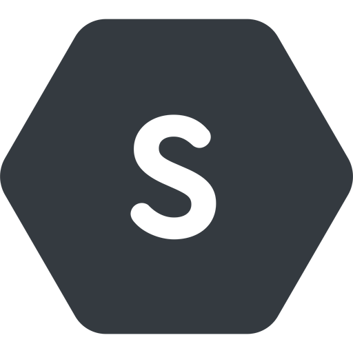 small normal, solid, hexagon, small, size, s free icon 512x512 512x512px