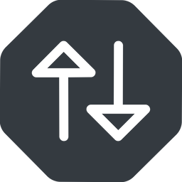 change right, normal, solid, octagon, arrow, update, change, switch, select, revert, double, double-arrow free icon 256x256 256x256px