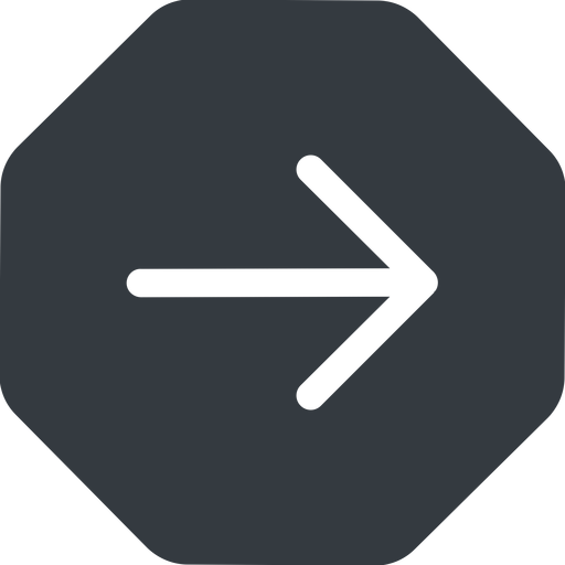 arrow-simple right, solid, octagon, arrow, direction, arrow-simple free icon 512x512 512x512px