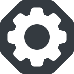 setting-solid normal, solid, octagon, setting, config, gear, wheel, settings, cog, setting-solid free icon 256x256 256x256px