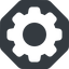 setting-solid normal, solid, octagon, setting, config, gear, wheel, settings, cog, setting-solid free icon 64x64 64x64px