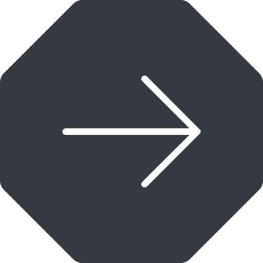 arrow-simple-thin thin, right, solid, octagon, arrow, direction, arrow-simple-thin free icon 512x512 512x512px