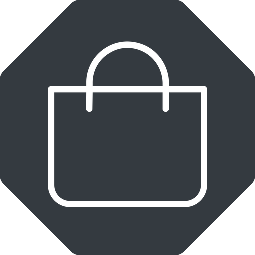 shopping-bag-thin thin, solid, octagon, shopping, cart, market, handbag, bag, bags, shopping-bag, shopping-bag-thin free icon 512x512 512x512px