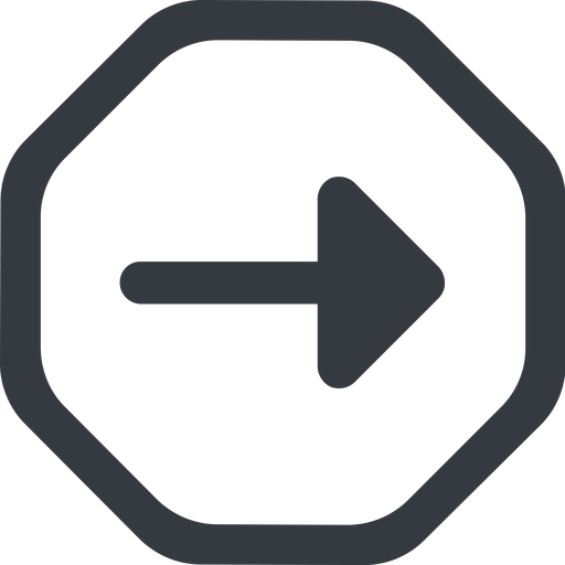 arrow-solid line, right, wide, octagon, arrow, arrow-solid free icon 512x512 512x512px