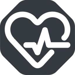 beating-heart-wide wide, solid, octagon, horizontal, mirror, rate, medical, heart, medic, beating, beat, monitor, pulse, beating-heart-wide, beating-heart free icon 256x256 256x256px