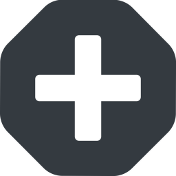 plus-solid solid, octagon, plus, add, new, medical, plus-solid, create, addition, +, more, medic free icon 256x256 256x256px