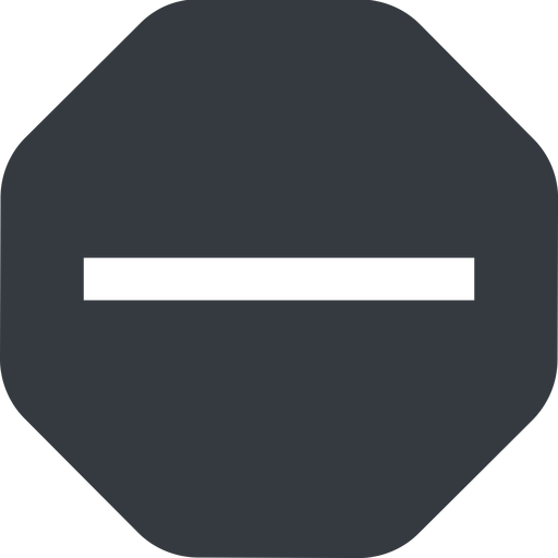 minus-wide up, wide, solid, octagon, minus, remove, sub, substract, collapse, minus-wide, -, less free icon 512x512 512x512px