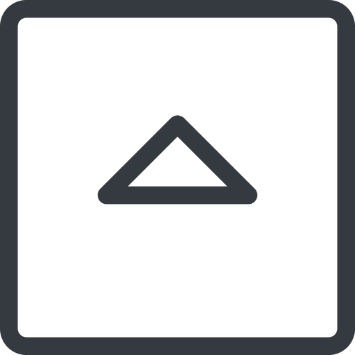 caret line, up, normal, square, arrow, direction, caret free icon 512x512 512x512px